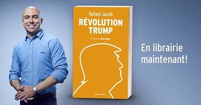 Revolution Trump de Rafael Jacob, disponible en librairie!