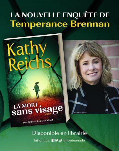Le nouveau roman de Kathy Reichs est maintenant disponible!