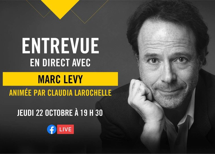 Entrevue en direct avec Marc Levy